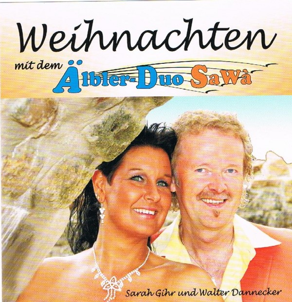 Weihnachtscover cd sawa