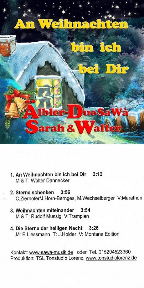 CD Weihnachten Aelbler Duo Sawa